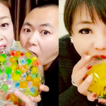 Блогеры начали грызть разноцветный лёд. Зачем они это делают?!