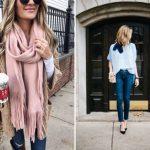 Как носить шарф весной: 10 лучших вариантов