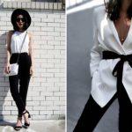 Классика жанра: 15 модных сочетаний черного и белого в одежде