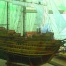 Заключенные создали шедевральный макет парусника 17 века