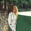 Алина Гросу оголила ноги в кокетливом платье