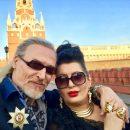 Никита Джигурда вышел на публику в компании бывшей любовницы