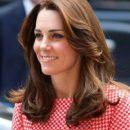 Кейт Миддлтон впервые сфотографировали у Кенсингтонского дворца после родов