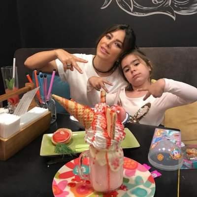 Ани Лорак показала фото с шестилетней дочерью