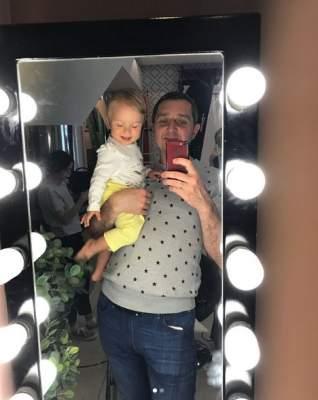 Известный украинский шоумен поделился снимком с дочерью