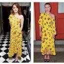 «Одинаковое безвкусие»: В Сети раскритиковали платья Эммы Стоун и Кристен Белл