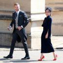 Бекхэм и принцесса Беатрис вели себя непристойно на королевской свадьбе