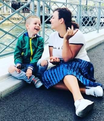Наталья Холоденко показала подросшего сына