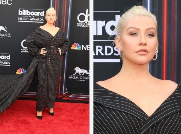 Опять набрала вес: Кристина Агилера шокировала внешностью на Billboard Music Awards