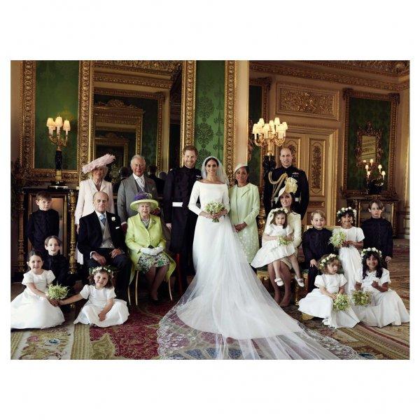 «Она просто упала»: Фотограф рассказал о работе на свадьбе принца Гарри и Меган Маркл