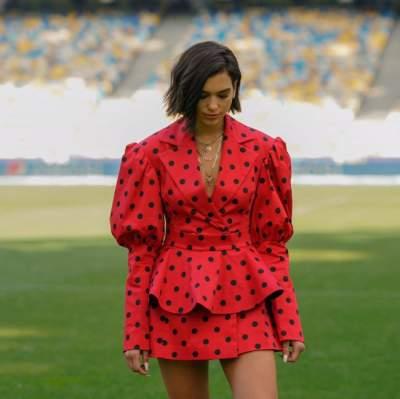 Мировая звезда появилась в Киеве в наряде от украинского бренда