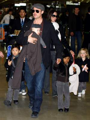 Отношения между Анджелиной Джоли и Брэдом Питтом ухудшились