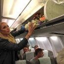 Огромные букеты Волочковой спровоцировали скандал в самолете