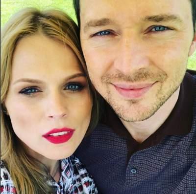 Ольга Фреймут опубликовала новое фото с мужем