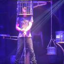 Участник «Евровидения» Воронцов во время выступления упал с большой высоты