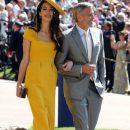 Жена Клуни обошла всех красавиц на королевской свадьбе