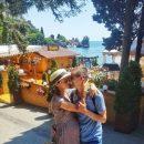 Беременная Мария Адоевцева проводит медовый месяц с мужем в Крыму