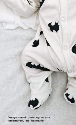 Муж Алены Шоптенко показал первое фото новорожденного сына