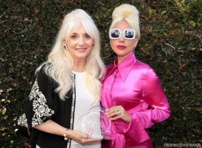 Леди Гага показала свою маму