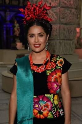 Сальма Хайек поразила ярким образом Фриды Кало