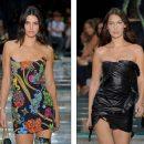Кендалл Дженнер и Белла Хадид стали самыми яркими моделями показа Versace в Милане