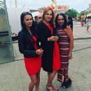 Беременная Мэрилин Керро удивила своим ярким нарядом