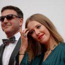 Ксения Собчак и Максим Виторган украсили обложку HELLO!