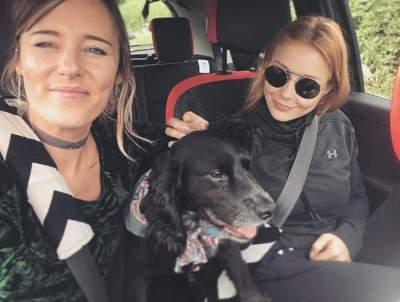 Тина Кароль больше не боится собак после поездки в Лондон