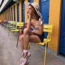 Наталья Водянова поддержала панамских болельщиков сексуальным танцем