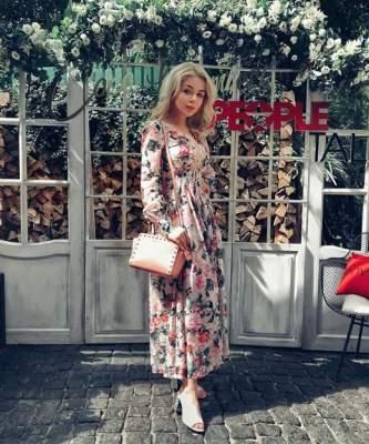 Алина Гросу похвалилась новым платьем