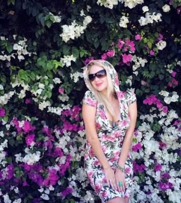 Катерина Бужинская показала фигуру в летнем платье