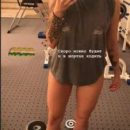 Дочь Потапа показала стройные ноги