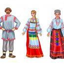 Русские народные костюмы для детей