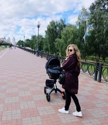 Алена Шоптенко показала, чем занимается с сыном