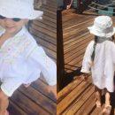 Деловая девушка: 3-летняя дочь Татьяны Навки восхитила своей походкой