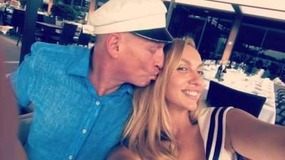 Оля Полякова поделилась фото в обнимку с мужем