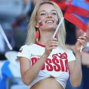 Самая красивая фанатка сборной РФ дала откровенное интервью