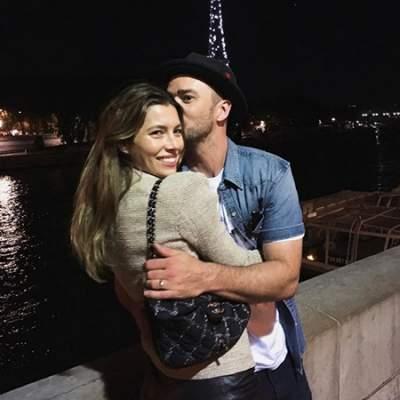 Милое фото Тимберлейка с женой растрогало публику