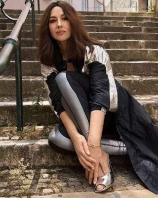 Моника Беллуччи порадовала естественной красотой