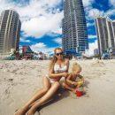 Яна Соломко порадовала ярким пляжным фото