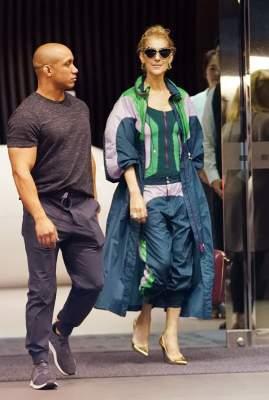 Селин Дион появилась на публике в странной одежде