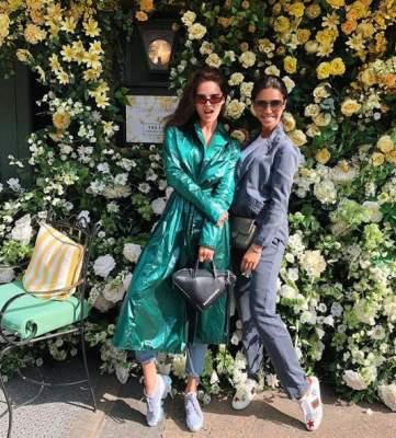 Санту Димопулос видели в стильном наряде на улицах Лондона