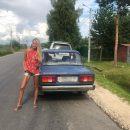 Лапти от Dior: Мария Погребняк изучает российскую провинцию