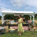 Дженифер Гарнер очаровала фанатов летним платьем на мероприятии «Однажды на ферме»