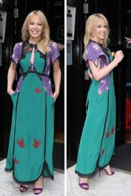 Кайли Миноуг удивила поклонников, выбрав нелепое платье