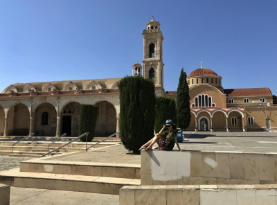 Украинская звезда балета отдохнула на Кипре