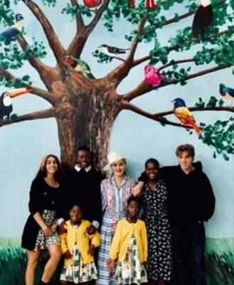 Мадонна показала свою африканскую