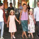 Сара Джессика Паркер проводит итальянские каникулы с семьей