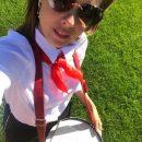 «Слишком гламурная»: Екатерину Шпицу раскритиковали за образ пионерки