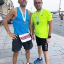 Проклятие Минздрава: Шнуров пробежал 10 километров в рамках марафона «Белые ночи»